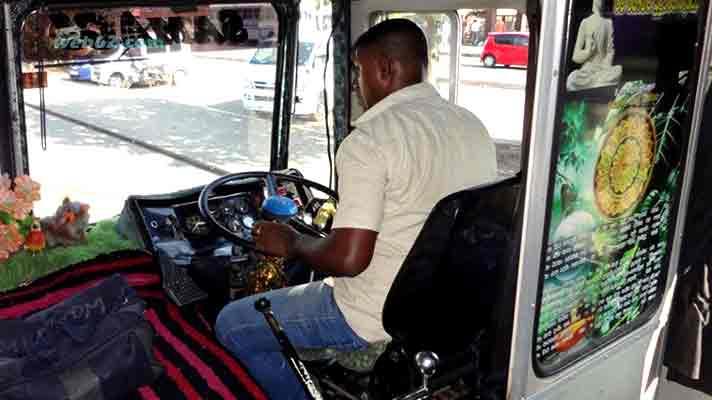 Image result for sri lankan bus driver