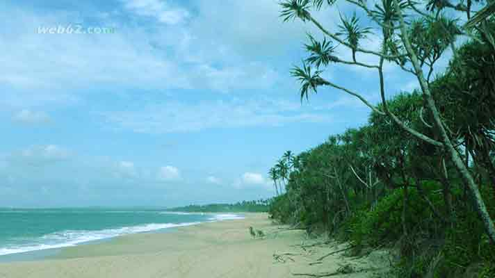 Sri Lanka beach front property