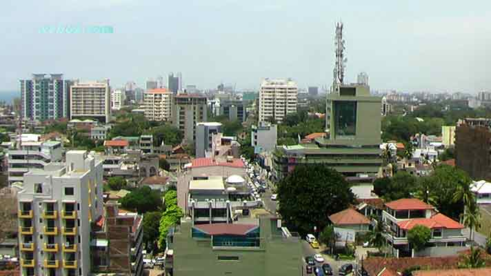 photo view over Colombo, Sri Lanka
