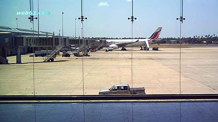 Colombo Airport in Sri Lanka