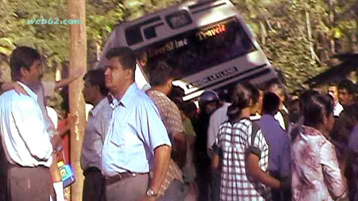 Kandy Road bus accident