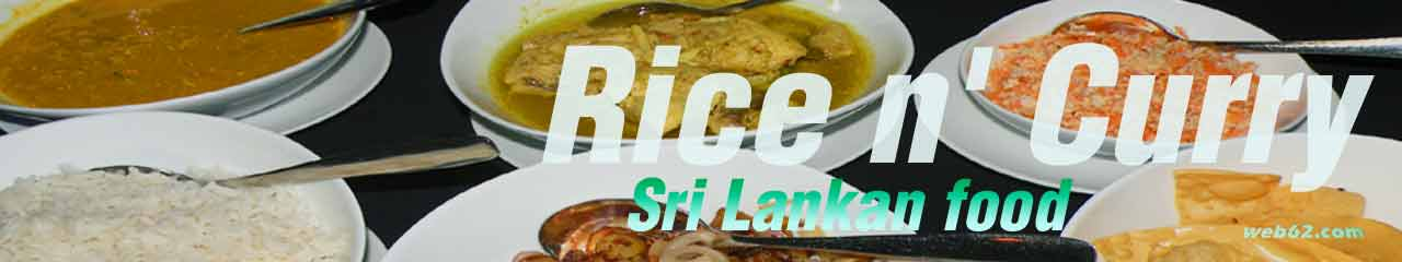 photo Rice and Curry in Sri Lanka
